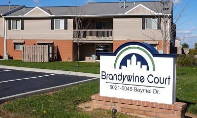 Community Signage, Brandywine Court, 0