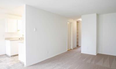 Living Room, Park Ballinger Apartments, 1
