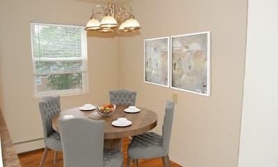 Dining Room, Village Green Apartment Homes, 1