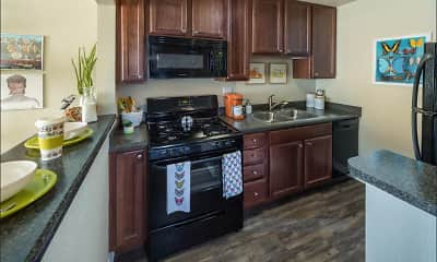 Kitchen, UCA Apartment Homes, 2