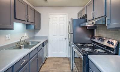 Kitchen, Harlowe Apartments, 0