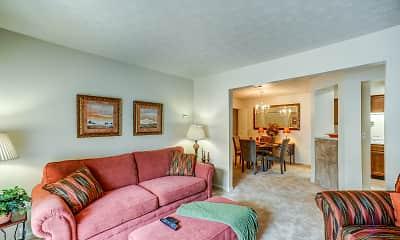 Living Room, Springview Apartment Homes, 1