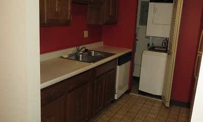 Kitchen, Williamsburg South Apartments, 1