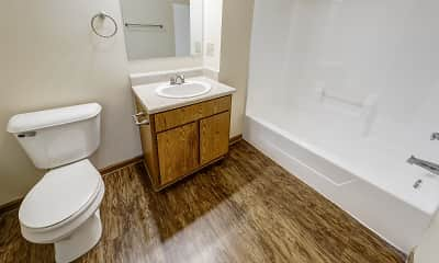 Bathroom, Amberwood Place I & II, 2