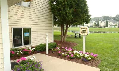 Community Signage, Alpine Lake Apartments, 1