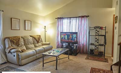 Living Room, Stratford Village Townhomes, 1