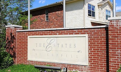 Community Signage, Estates of Coppell, 1