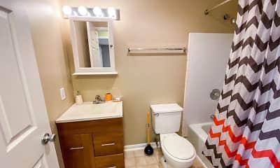 Bathroom, Capitol View, 1