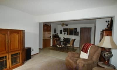 Living Room, Manchester Place Apartments, 2