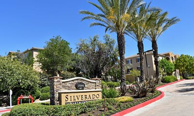 Community Signage, Silverado Apartment Homes, 0