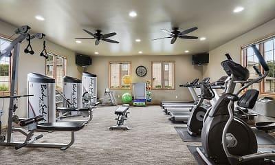 Fitness Weight Room, McCarthy Creek, 1