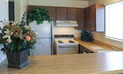Kitchen, Plumas Garden, 1