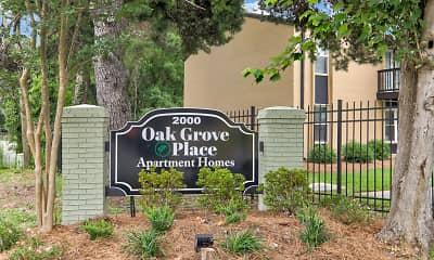 Community Signage, Oak Grove Place, 2