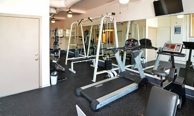Fitness Weight Room, Springdale Villa, 1