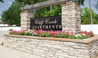 Community Signage, Cliff Creek Apartments, 2
