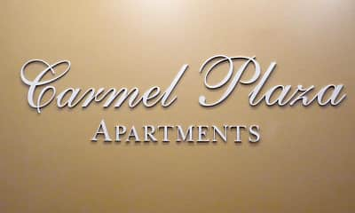 Community Signage, Carmel Plaza Apartments, 2