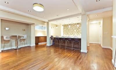 Living Room, Serrano Apartments, 1