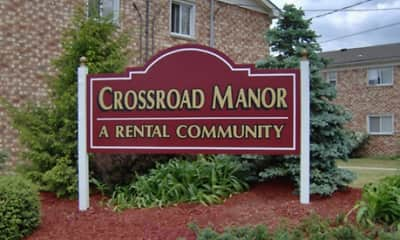 Community Signage, Crossroad Manor Apartments, 0