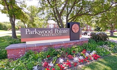 Community Signage, Parkwood Pointe Apartments, 2