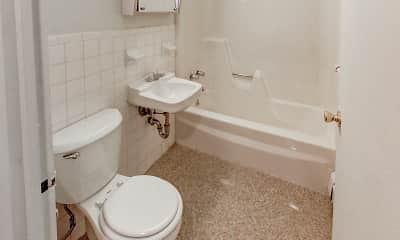 Bathroom, Silver Pond Apartments, 2
