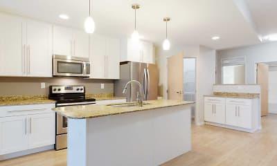 Kitchen, Boulder Apartments, 0