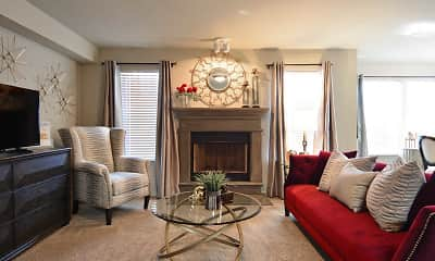 Living Room, Tuscany Ranch, 1