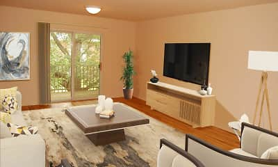 Living Room, Tanglewood Terrace Apartment Homes, 1