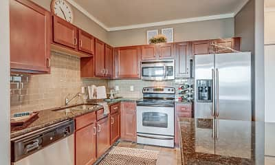 Kitchen, Lincoln Park At Trinity Bluff, 2