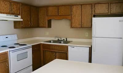 Kitchen, Amanda Place Apartments, 1