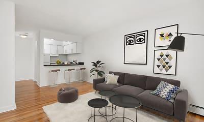 Living Room, 3510 N. Pine Grove, 0
