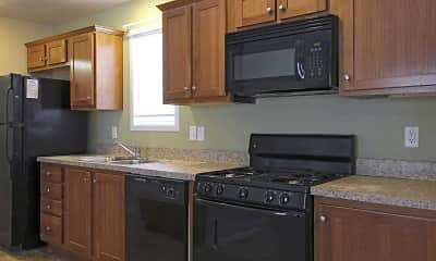 Kitchen, Kings Court, 0