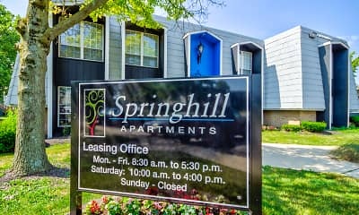 Community Signage, Springhill, 2