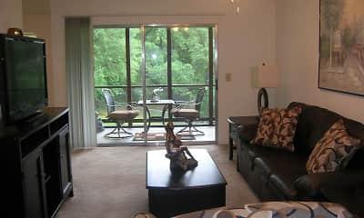 Living Room, Creekwood Apartments, 1