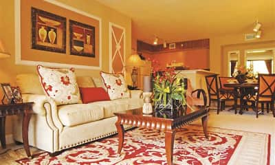 Living Room, Vista Verde at Coconut Creek, 2