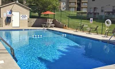 Pool, Carlton Square Apartments, 2