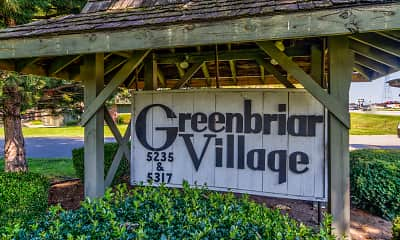 Community Signage, Greenbriar Village Apartments, 2