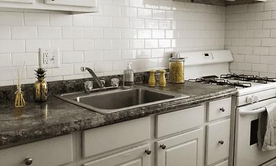 Kitchen, Vairo Village Apartments, 0