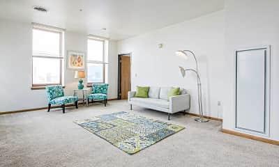 Living Room, Playbill Flats, 1