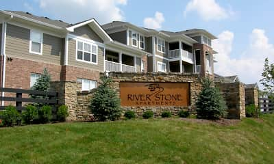 Community Signage, River Stone Apartments, 0
