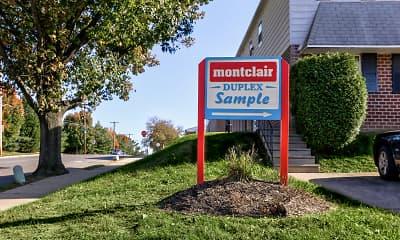 Community Signage, Montclair Duplex Apartments, 0