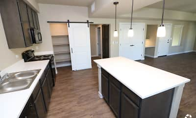 Kitchen, Pecos Vista Apartments, 1