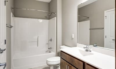 Bathroom, Lighthouse Lofts, 2