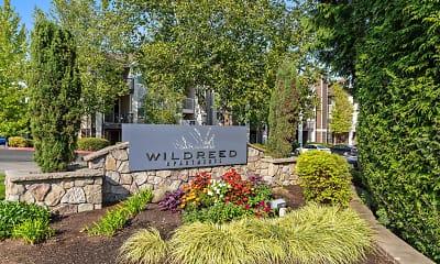 Community Signage, WildReed Apartments, 2