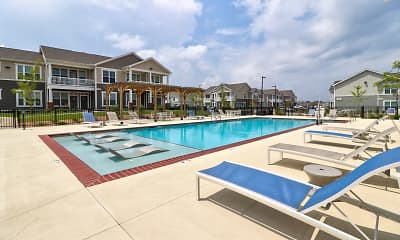 Pool, Villas at Germantown, 1