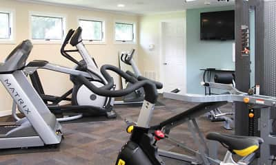 Fitness Weight Room, Wesley Park, 2