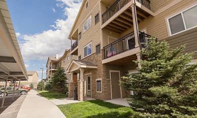 Building, Windridge Apartments - WY, 2