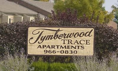 Community Signage, Tymberwood Trace, 1