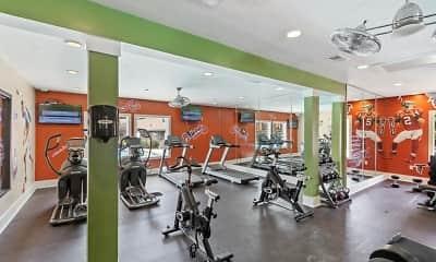 Fitness Weight Room, Rosemont Dunwoody, 2