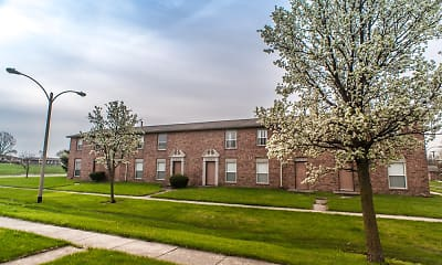 Building, River Pointe Townhomes, 1