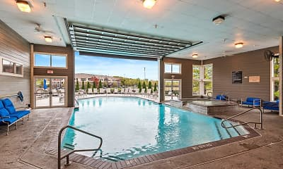 Pool, Cornerstone Apartments, 1
